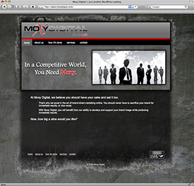 Moxy Digital Website