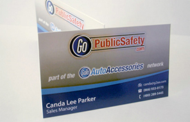 GoPublicSafety Business Cards